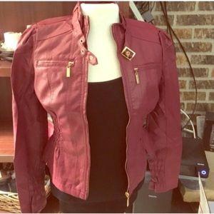 🚨FINAL PRICE🚨NWT. New Look Maroon Jacket